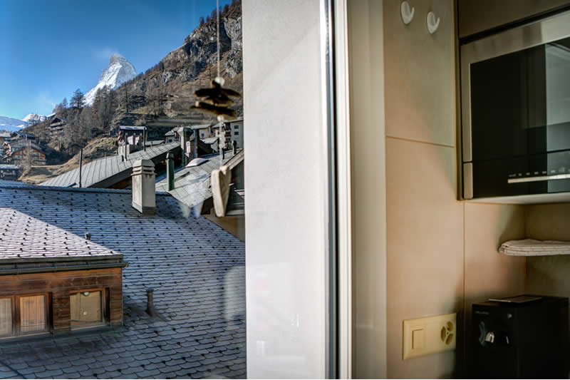 Chalet Alpine Lodge - vue Cervin