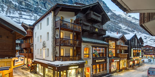 Chalet Alpine Lodge in Zermatt